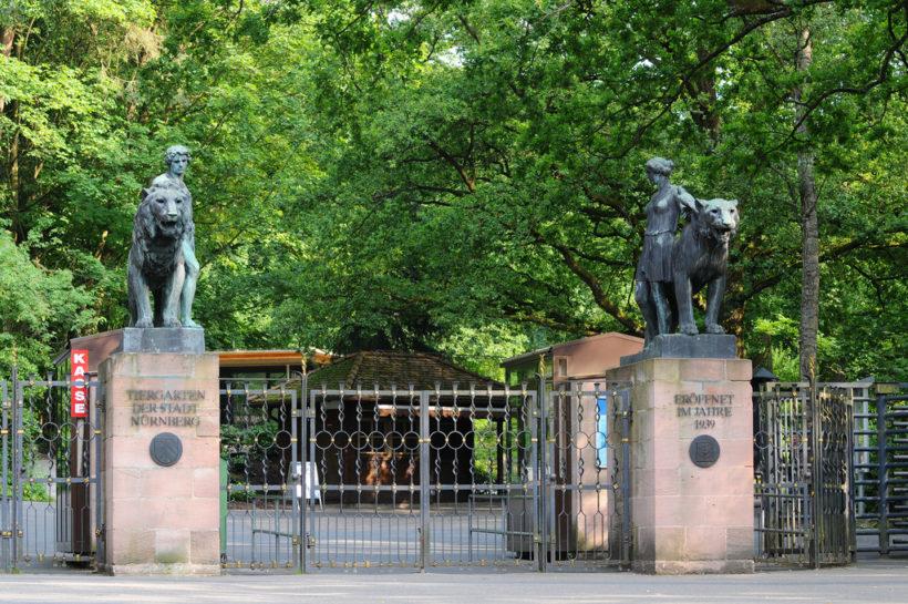 ZOO Norimberk – vstup