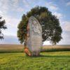 Moravské pole – památník