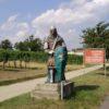 Moravské pole – socha rytíře