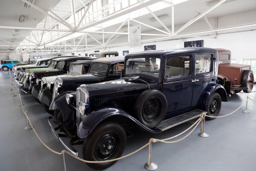 Muzeum Škoda auto – skupina vozidel