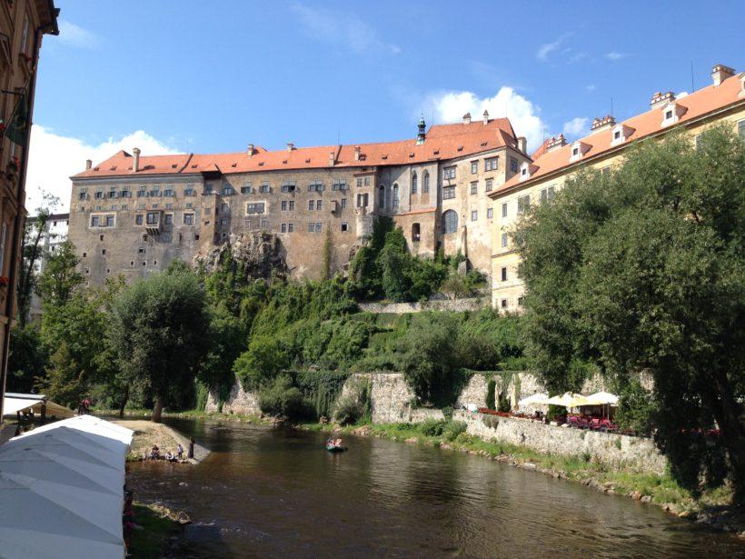 Cesky Krumlov zamek 1